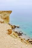 Bella linea costiera dell'Angola Immagine Stock