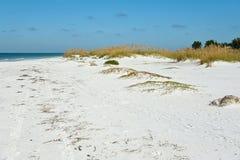 Bella linea costiera di Florida Fotografia Stock