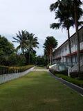 Bella località di soggiorno, isola di Sentosa fotografia stock libera da diritti