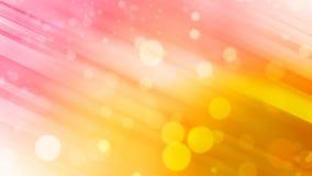 Bella luce rosa e gialla astratta del fondo, di tono e del bokeh Fotografie Stock Libere da Diritti