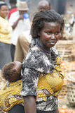 Bella madre africana fotografia stock