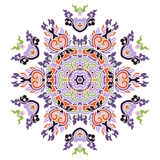 Bella mandala colorata Fotografia Stock