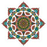 Bella mandala Modello ornamentale rotondo royalty illustrazione gratis