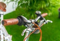 Bella mano della bici Fotografia Stock Libera da Diritti