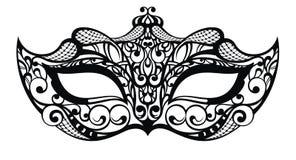 Bella maschera di pizzo royalty illustrazione gratis