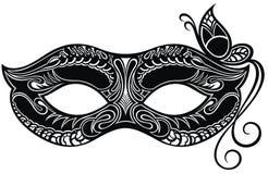 Bella maschera di pizzo Fondo di vettore di Mardi Gras royalty illustrazione gratis