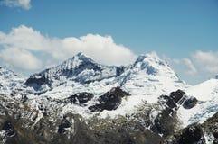 Bella montagna delle Cordigliera Fotografia Stock