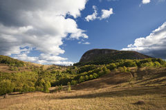 Bella montagna di autunno immagine stock libera da diritti