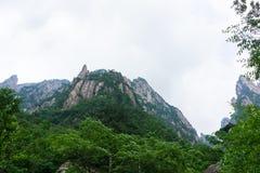 Bella montagna di Huangshan in Cina Fotografia Stock
