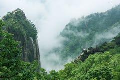 Bella montagna di Huangshan in Cina Immagine Stock Libera da Diritti