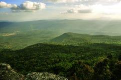Bella montagna di paesaggio Fotografia Stock Libera da Diritti