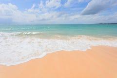 Bella Nai Yang Beach, Phuket, Tailandia immagini stock libere da diritti