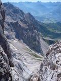 Bella natura al dachstein del hoher in Austria fotografia stock
