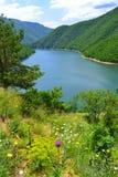 Bella natura del lago della montagna fotografie stock