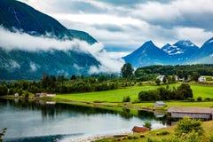 Bella natura Norvegia Fotografia Stock