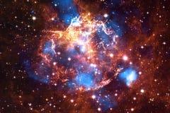 Bella nebulosa, starfield, mazzo delle stelle nello spazio cosmico royalty illustrazione gratis