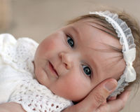 Bella neonata   Fotografia Stock Libera da Diritti