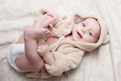 Bella neonata Immagine Stock