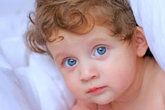Bella neonata Immagini Stock