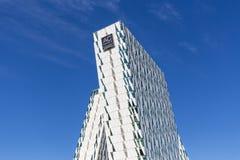 Bella nieba hotel i Kongresowy centrum w Kopenhaga fotografia stock