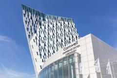 Bella nieba hotel i Kongresowy centrum w Kopenhaga zdjęcia stock