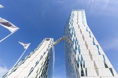 Bella nieba hotel i Kongresowy centrum w Kopenhaga obraz royalty free