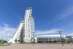 Bella nieba hotel i Kongresowy centrum w Kopenhaga obrazy royalty free