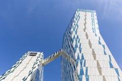 Bella nieba hotel i Kongresowy centrum w Kopenhaga zdjęcie stock