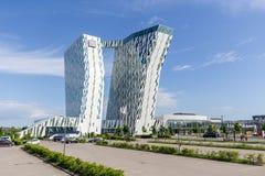 Bella nieba hotel i Kongresowy centrum w Kopenhaga fotografia royalty free