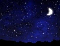 Bella notte Immagini Stock