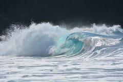 Bella onda di oceano Fotografie Stock Libere da Diritti