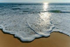 Bella onda sulla spiaggia Fotografia Stock Libera da Diritti