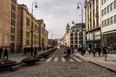 Bella Oslo, Norvegia fotografia stock libera da diritti