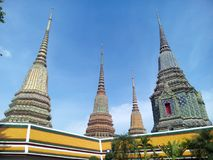 Bella pagoda a Bangkok Immagine Stock