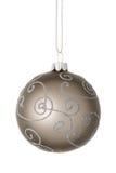 Bella palla di Natale Immagine Stock