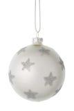 Bella palla di Natale Fotografia Stock Libera da Diritti