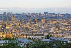 Bella Parigi sulla vista Immagini Stock Libere da Diritti