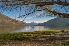 Bella Patagonia Argentina del paesaggio Immagini Stock Libere da Diritti