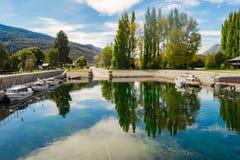 Bella Patagonia Argentina del paesaggio Fotografie Stock Libere da Diritti