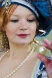 Bella perla Fotografie Stock
