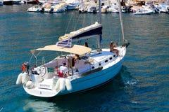 Bella pesca greca fotografie stock libere da diritti