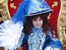 Bella piccola principessa Immagini Stock