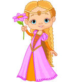 Bella piccola principessa Fotografia Stock