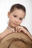 Bella piccola ragazza fotografia stock libera da diritti