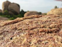 Bella pietra in Sri Lanka Immagini Stock
