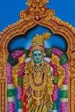 Bella pittura nel tempio indù di Kapaleeshwarar, ch della dea Immagini Stock Libere da Diritti