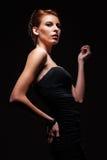 Bella posizione di modello caucasica Fotografia Stock