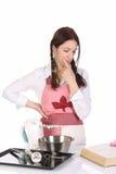 Bella preparazione della casalinga Immagini Stock Libere da Diritti