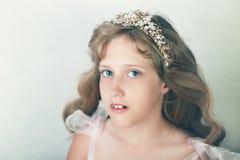 bella principessa della ragazza immagini stock