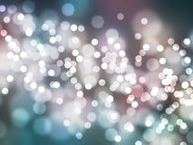 Bella priorità bassa astratta degli indicatori luminosi di festa Fotografia Stock Libera da Diritti
